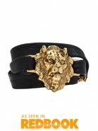 Lion Wrap Bracelet