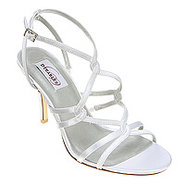 Runway Satin - Women's - Shoes - White