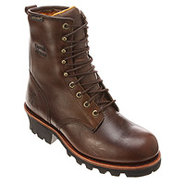 26379 8 Inch WP Logger ST - Men's - Shoes - Brown