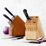 17-Slot Knife Block, Cherry