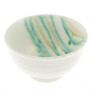 Flowing Brushstrokes Rice Bowl