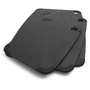 Black Slate Nonslip Cutting Board, 14 3/4  x 11 1/