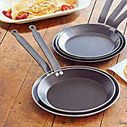 De Buyer Nonstick Crepe Pan, 10 1/4, 10.25