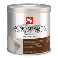 illy MonoArabica Espresso Capsules, Brazilian, 21 