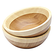 Two-Tone Bamboo Serverware Individual Bowl