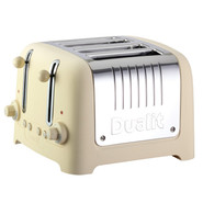 Lite Cream 4-Slice Soft-Touch Toaster