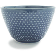 Blue Hobnail Teacup