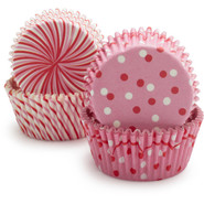Toot Sweet Pink Bake Cups, Set of 48