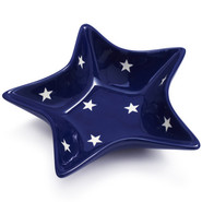 Blue Star Dip Bowl