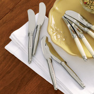 Stainless Steel Spreaders, Set of 4