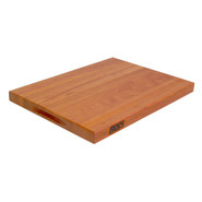 . Cherry Edge-Grain Cutting Board, 20  x 15  x 1 1