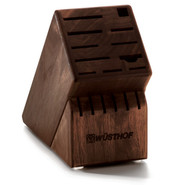 17-Slot Walnut Block