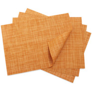 Clementine Mini Basketweave Placemat