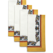 -Style Napkins, Set of 4