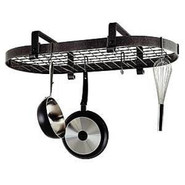Low Ceiling Oval Pot Rack