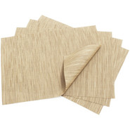 Camel Rectangular Bamboo Placemat