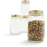 Rocco Quattro Stagioni Jars 4-Piece Set, .15 l