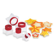 Star Snap Cookie Cutters, Set of 5