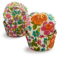 Floral Bake Cups, Set of 48