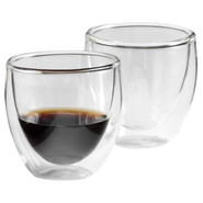 Pavina Double-Walled Insulated Glassware, 2 oz.