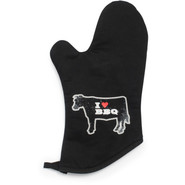 I Heart BBQ Oven Mitt