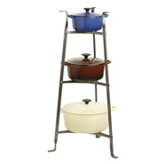 3-Tier Pot Rack, 17 1/2  x 15