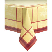 Lemon Jacquard Tablecloths, 70