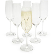 Forte Champagne Flutes, Set of 6