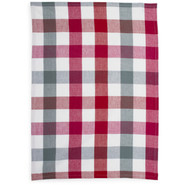 Metallic Buffalo Check Kitchen Towel
