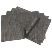 Smoke Rectangular Bamboo Placemat