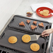 Logic Rectangular Grill &amp; Griddle Pan