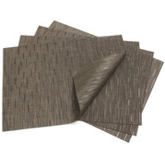 Chocolate Rectangular Bamboo Placemat