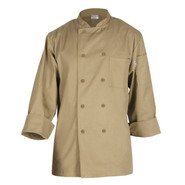 Basic Khaki Chef Coats, Medium