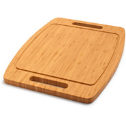 Bamboo Barbecue Cutting Board with Grooves