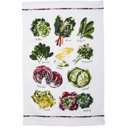 Lettuce Varietals Kitchen Towel