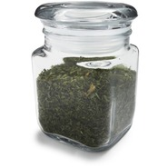 Square Glass Spice Jar