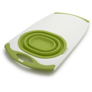 Over-The-Sink Silicone Strainer Board