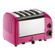 Chilly Pink NewGen 4-Slice Toaster