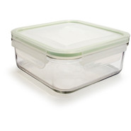 Go Green GlassLock Food Storage, Square, 17 oz.