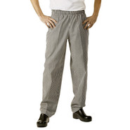 Baggy Checkered Chef Pants, Small