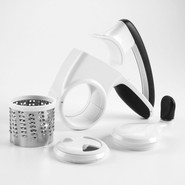 Seal & Store Rotary Cheese Grater