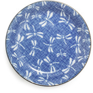 ?? Blue Dragonfly Plate