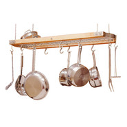 Ceiling Oval Pot Racks, 24 x13 x12