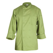 Basic Lime Chef Coats, Large