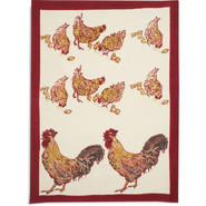 Red Rooster Printed Towel