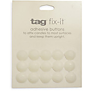 Fix-It Adhesive Buttons for Candles, 15-Piece Set