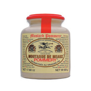 Meaux Grain Mustard in Stone Jar