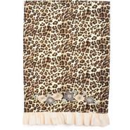 Pink Leopard Vintage-Inspired Kitchen Towel