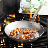 Tim Love Carbon Steel Grill Pan, 12 1/2