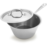 Stainless Steel Windsor Pan with Lid. 1 1/2 qt., 1